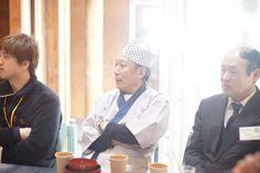 新潟市南商工振興会、佐藤さん。齋藤さんご夫婦へのおもてなしのため、美味しいお料理を作ってくださいました。