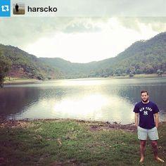 Foto de @harsckoMil y una fotos de un Lago #sierralago