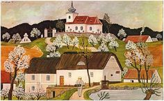 JOSEF LADA od jara až do zimy-from spring until winter Academic Art, Illustrators, Folk Art, Around The Worlds, Clip Art, Spring, Retro, Drawings, Poster