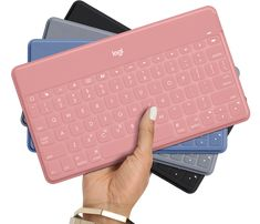 Logitech Keys-To-Go Ultra-portable wireless keyboard for all iOS devices includi - Ipad Pro - Trending Ipad Pro for sales. - Logitech Keys-To-Go Ultra-portable wireless keyboard for all iOS devices including iPad iPhone Apple TV an Logitech, Apple Tv, Apple Ipad, Mac Book, Apple Computers, Laptop Computers, Computer Laptop, Computer Backpack, Funda Ipad Pro