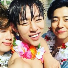 Youngjae, Daehyun, Yongguk