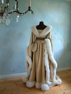 medieval wedding gowns | The trail of this dress isn't too long, but enough to give some royal ...
