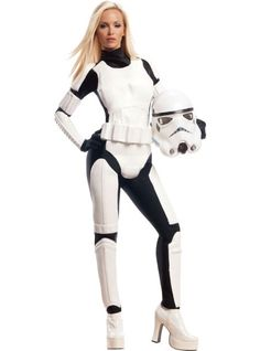 Adult Sassy Stormtrooper Costume - Star Wars - Party City