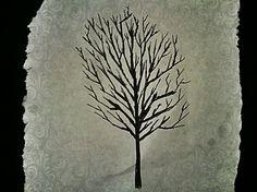 drawn tree.