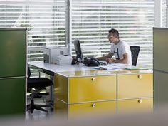 USM green and golden yellow. www.usm.com