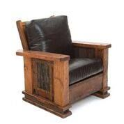 Mountain Lodge Style Rustic Chair Available at Woodland Creek Furniture. Rustic Cafe, Rustic Restaurant, Rustic Logo, Rustic Cottage, Rustic Outdoor, Rustic Farmhouse, Mission Furniture, Rustic Furniture, Lodge Furniture