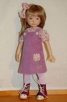 Little Darling Little Darlings Porcelain Doll Ma Petite Crochet Dresses Queen