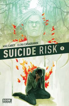 Suicide Risk 9. Cover by Tommy Lee Edwards.