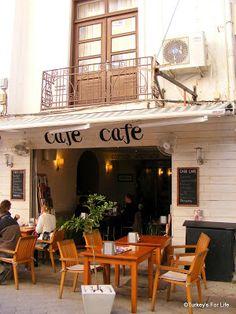 Cafe Cafe, Fethiye. Read the full post on Turkey's For Life. Afiyet Olsun! :)