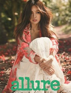 Lee Hyori is one with nature for 'Allure' | allkpop.com