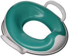 Prince Lionheart weePOD Toilet Trainer, Gumball Green. Treated with an EPA approved, anti-microbial additive to keep germs away. Non-slip base to keep it in place; fits most standard and elongated toilets. Built-in splash guard for oopsie-daisy aim. TPE ring provides a hanging storage solution. Family owned since 1973 --committed to helping growing families as only a family can!.
