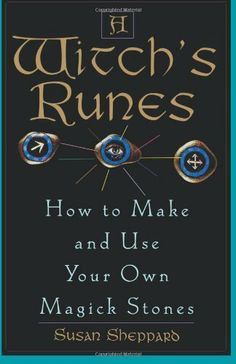 A Witch's Runes: How to Make and Use Your Own Magick Stones by Susan Sheppard, http://www.amazon.com/dp/0806519967/ref=cm_sw_r_pi_dp_.R.Qpb1F48BE9
