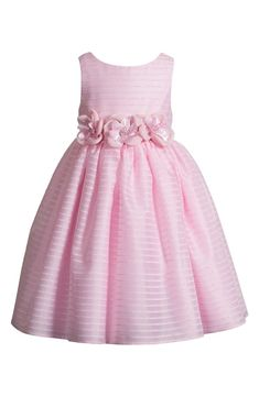 Kleinfeld Pink 'Angelina' Sleeveless Dress (Toddler Girls) | Nordstrom