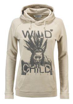Felpa donna AWorld con cappuccio incrociato e stampa fotografica.   Shop online: http://www.athletesworld.it/felpa-aworld-garment-dyed-aworld-9193493