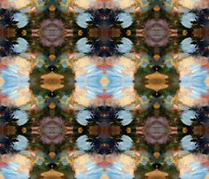 Feather to Fire fabric by baas on Spoonflower - custom fabric