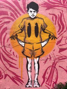 Dünyanın Bütün Mutsuzları Birleşin! • Bigumigu Graffiti Murals, Street Art Graffiti, Creative, Fictional Characters, Fantasy Characters