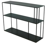 Welcome to the Pols Potten webshop and catalogue - meubelen > kasten > - > - > Shelf unit metal low double