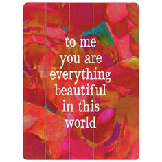 To Candice and James...my sunshine and my rock...my daughter and my son...you truly are everything beautiful in my world!
