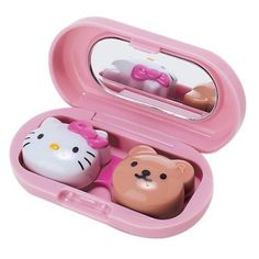 65cba9cd6e1 Cute For Your Peepers - Hello Kitty Contact Lens Case