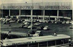 Supercenter Superbom em 1978 na Pompéia em Sao Paulo, atualmente Shopping Bourbon.