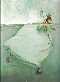 "~♥~ too adorable not to pin ~♥~ there is always so much more beneath the surface ~ ""Rebecca Dautremer"""