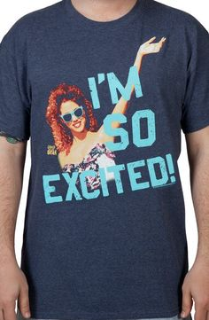 Saved By the Bell I'm So Excited Jessie Shirt