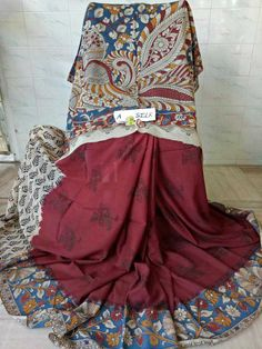 Kalamkari silk cotton sarees 1