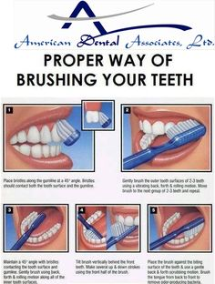 Brushing your teeth is an important part of your oral hygiene routine. Know proper way of brushing techniques at www.atooth.com