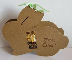 Rocher-Osterhäschen für Nachbarn, Postboten, Freunde...                       Die Schneidedatei ist von Andrea R.