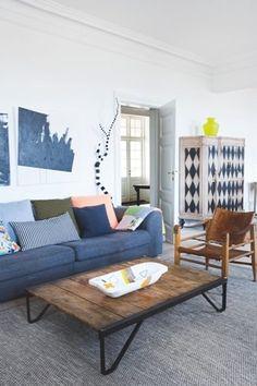 Scandinavian fabric, Fabrics and Interiors on Pinterest