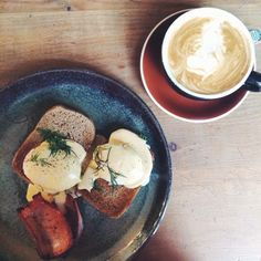 This delicious dish from Lonsdale Street Roasters 23 was enjoyed by Instagrammer thegirlhassparke