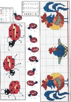 Barrados - Rosa Plaza - Picasa Web Albums; would be cute on tea towels