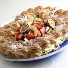 Eclair Recipe, Choux Pastry, Eclairs, Let Them Eat Cake, Pasta Salad, Baking, Ethnic Recipes, Desserts, Food