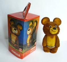 XXII Moscow 1980 Olympics Games New Polymer Mascot Misha in Original Box | eBay