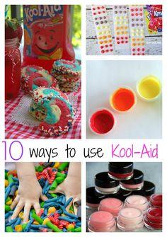 10 Recipes That Use Kool-Aid