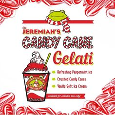 Baby it's cold outside but not for long! Check out @jeremiahsice latest flavor just in time for the holidays!
