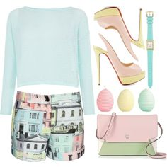"""""""Pretty in pastel"""" by trendsetter-98 on Polyvore http://www.polyvore.com/pretty_in_pastel/set?id=116857553"""
