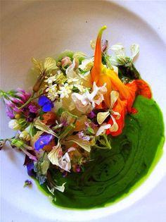 Noma floral salad