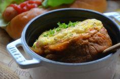 ストウブで「ベーコンとチーズのオムレツ」 | ジュンジュンの「おいしいモン」