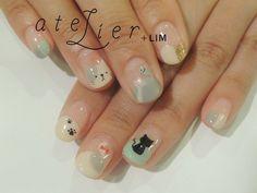 atelier+LIM : hand nail   Sumally #nailart