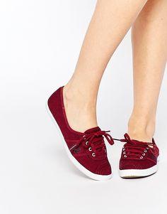 Fred Perry - Aubrey Port - Tennis en toile baskets shoping tenuedujour lookdujour mode femme ete achat fashion mignon jolie tendance ootd lux  chaussures
