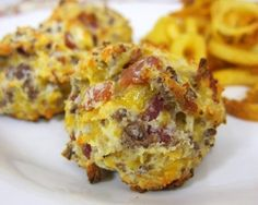 MyFridgeFood - Bacon Cheeseburger Puffs