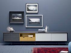 Lacquered wooden sideboard AURA C8 Aura Collection by TREKU | design Angel Martí, Enrique Delamo