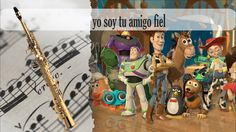 Partitura yo soy tu amigo fiel Saxofón Soprano