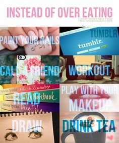 Things to do instead of overeating! pic.twitter.com/8A9j87D48h