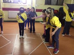 Team building maze game. Could help individual's improve spatial awareness