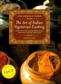 Indian Vegetarian Cooking...so in love with this book.
