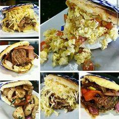 Gastronomía Venezolana Arepas