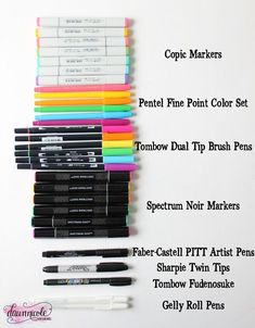 The Best Markers for Hand-Lettering