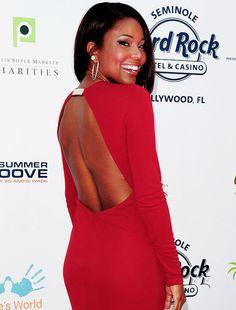Love an open-back dress :)